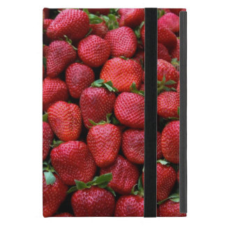Fresh Red Strawberries iPad Mini Case