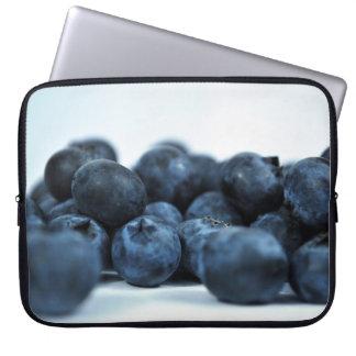 Fresh Ripe Blueberries Laptop Sleeve