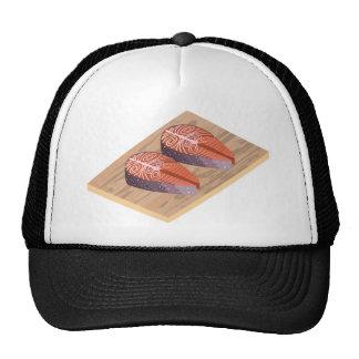Fresh Salmon Red Fish Slices Cap
