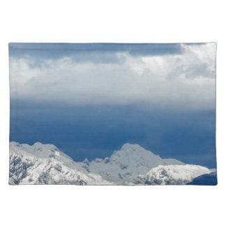 Fresh snow on the Kamnik Alps Placemat