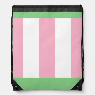 Fresh Spring Green and Pink Monogram Backpacks