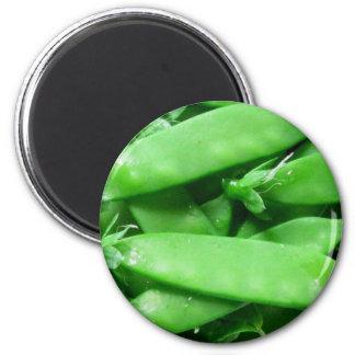 Fresh Spring Peas Magnet