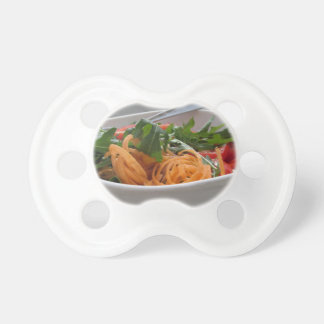 Fresh spring salad pacifiers