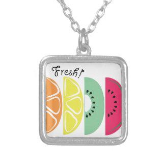 Fresh! Square Pendant Necklace