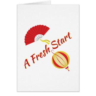Fresh Start Card