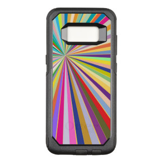 Fresh striped background OtterBox commuter samsung galaxy s8 case