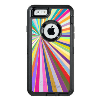 Fresh striped background OtterBox iPhone 6/6s case
