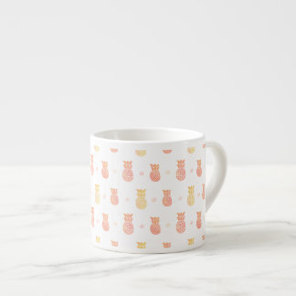 Fresh Summer Pineapple Espresso Cup