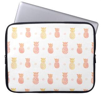 Fresh Summer Pineapple Laptop Sleeve
