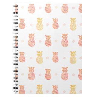 Fresh Summer Pineapple Notebooks