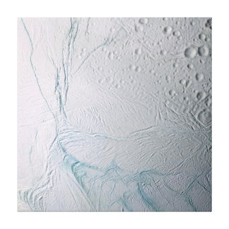 Fresh Tiger Stripes on Enceladus Canvas Print