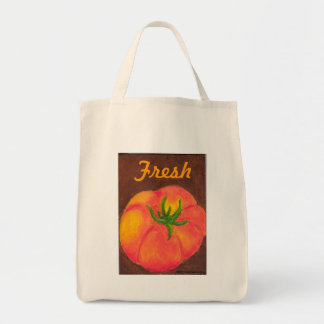 Fresh Tomato Tote Grocery Tote Bag