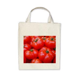 fresh tomatoes tote bags