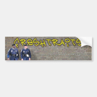 fresh traits tag bumper sticker
