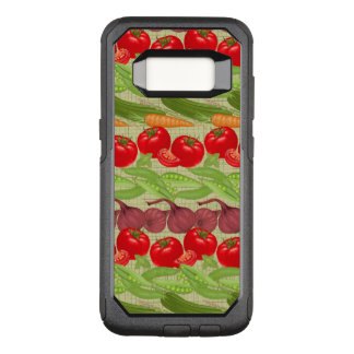 Fresh Vegetable Pattern OtterBox Commuter Samsung Galaxy S8 Case