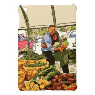 Fresh Veggies at the Farmers Market Cover For The iPad Mini