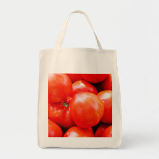 Fresh Veggies - Tomato Tote Grocery Tote Bag