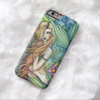 Fresh Water Mermaid Fantasy Art Barely There iPhone 6 Case
