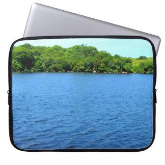 Fresh Water Pond Block Island Computer Sleeve