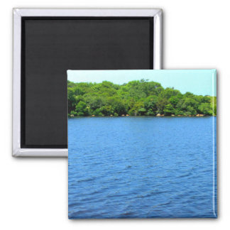 Fresh Water Pond Block Island Refrigerator Magnet