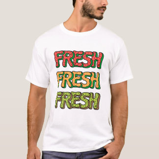Fresh Watermelon, Cantaloupe Melon, Kiwi T-Shirt