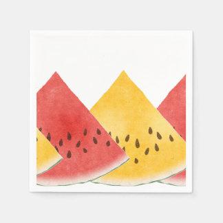 Fresh Watermelon Paper Napkin