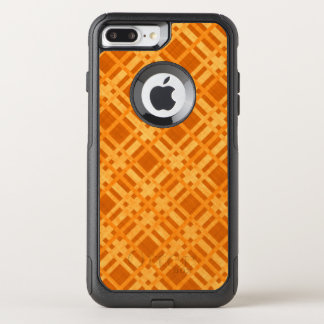 Fresh Yellow and Orange Plaid OtterBox Commuter iPhone 8 Plus/7 Plus Case