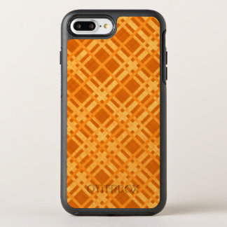 Fresh Yellow and Orange Plaid OtterBox Symmetry iPhone 8 Plus/7 Plus Case