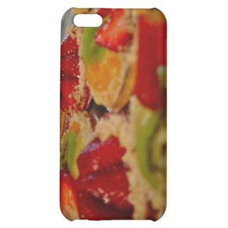Fresh yummy fruits custard tarts case for iPhone 5C