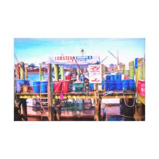 Freshest Seafood Canvas Print