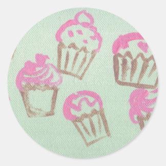 freshky baked round sticker