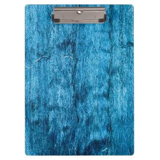 Freshly Dyed Blue Handmade Thai Silk Clipboards