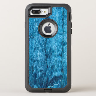 Freshly Dyed Blue Handmade Thai Silk OtterBox Defender iPhone 8 Plus/7 Plus Case