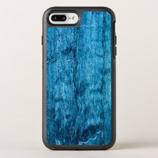 Freshly Dyed Blue Handmade Thai Silk OtterBox Symmetry iPhone 8 Plus/7 Plus Case
