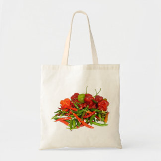 Freshly Picked Chillies Tote Bag