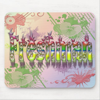 Freshman - Flowers Mouse Pad