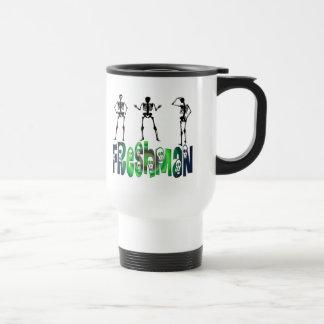 Freshman -  Skeletons Stainless Steel Travel Mug
