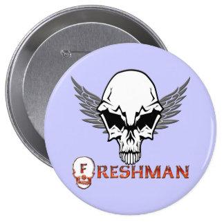Freshman - Skull Wings Buttons