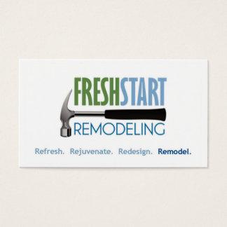 FreshStart Remodeling Business Card