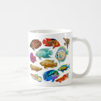 Freshwater Aquarium Fishes Mug