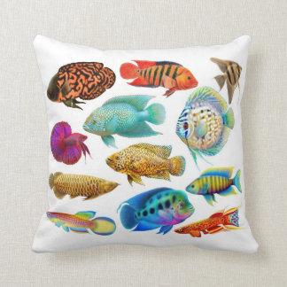 Freshwater Tropical Aquarium Fish Pillow