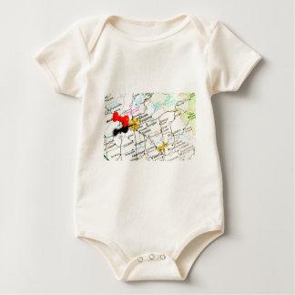 Fresno, California Baby Bodysuit