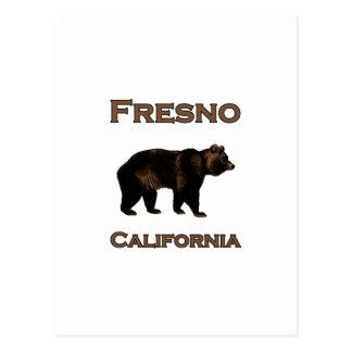 Fresno California Bear Postcard