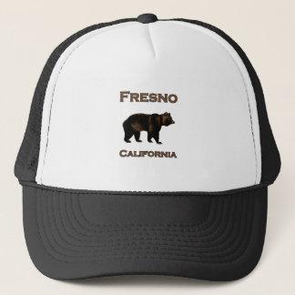 Fresno California Bear Trucker Hat