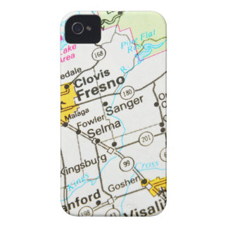 Fresno, California iPhone 4 Case-Mate Case