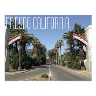 Fresno California Postcard