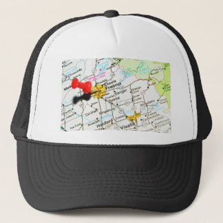 Fresno, California Trucker Hat