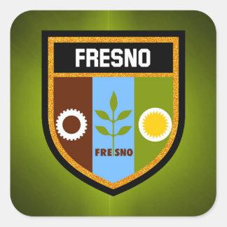 Fresno Flag Square Sticker