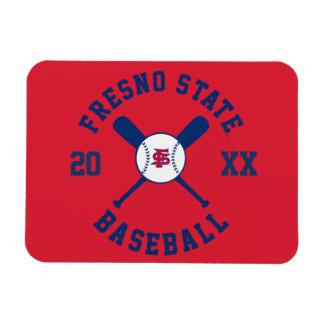 Fresno State Baseball Rectangular Photo Magnet