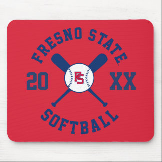 Fresno State Softball Mousepads